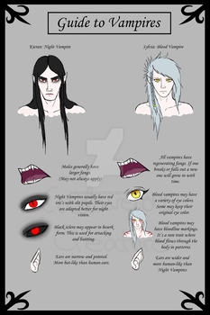 Guide to Vampires by CadaverousCreature