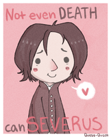 Snape Valentine by Queso-Queen