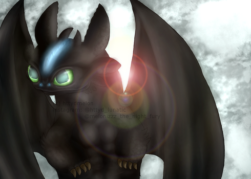Toothless The Alpha by Httydmelon