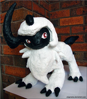 PKMN: Giant Absol Sculpture
