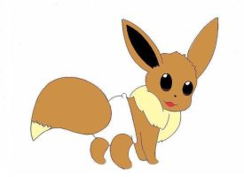 baby eevee by plushielover