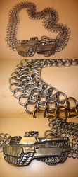 Chainmail Tank Belt by DaveLuck