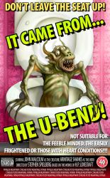 It came from... the u-bend by JohnMalcolm1970