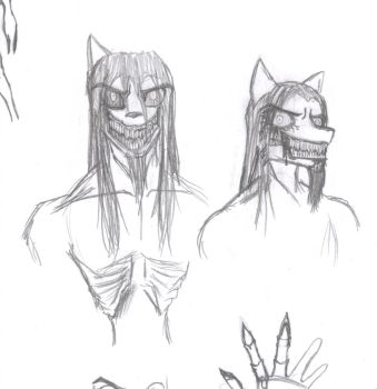 Cerberus Revamp Sketches by GnarledContradiction