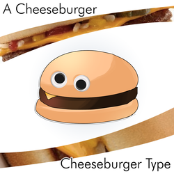 #5-Large Cheeseburger by locomotive111
