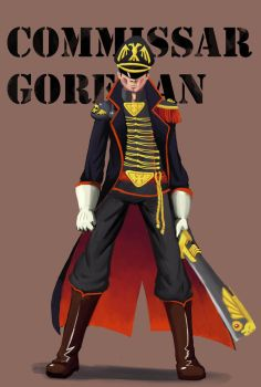 Commissar Goreman by MechanicalE