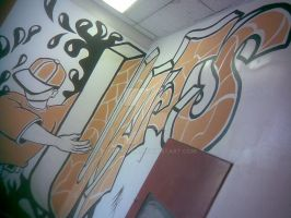 uarts Mural 2 by Bloodrican