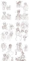 APH sketches by RoxanTrinity