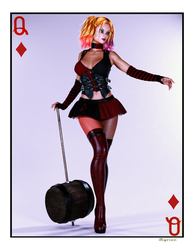 Harley Quinn Card 2 by Agr1on