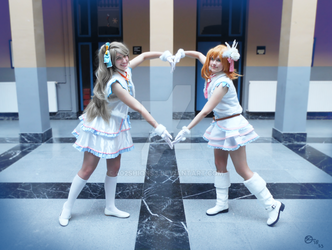 Kotori and Honoka - Snow Halation 1 by 402ShionS3