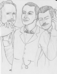 Holmes and his Watsons by Cygnicantus