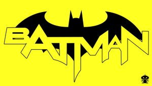 2011 The New 52 Batman Comic Title Logo by TheDorkKnightReturns