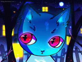 Mae - Night in the Woods by Raffyy