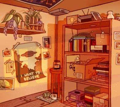 Maxie's Room by staarpiece