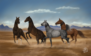 On the Steppe by Prettybold