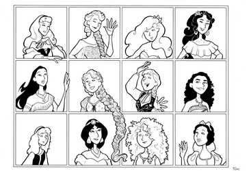Disney Leading Ladies 1 by BevisMusson