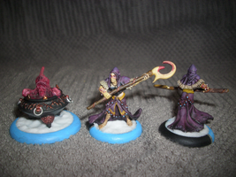 Spawning Vessel and Acolytes by paintingbyjackie