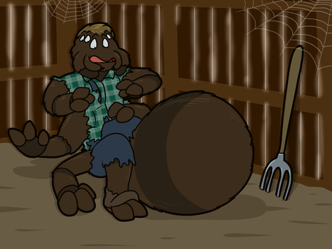 Were You Re-Born In A Barn (As A Spider)? by Pheagle-Adler
