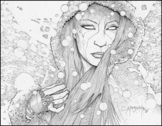This World is Not My Home: WiP Finished Pencil by giadrosich