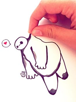 Baymax by AloCreate