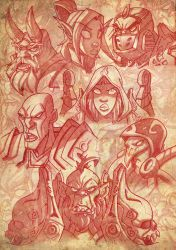 WoW Sketches by Javas