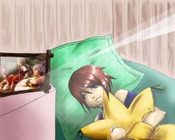 While Sora was asleep Part II by Quistounette