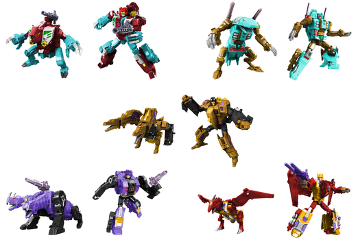 Pretender Monsters Digibash by Air-Hammer