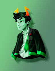 Lanque Bombyx Portrait by IffritWright