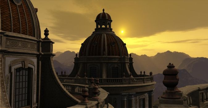 Dome from the Transformed World by Platycerium