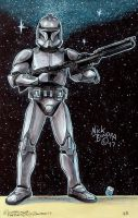 Clone Trooper ( Phase 1 armor ) by Phraggle