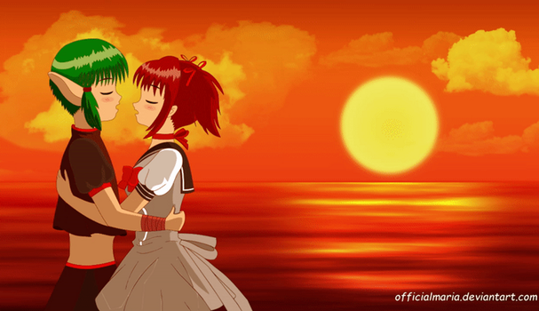 Romantic Sunset by official-maria-art