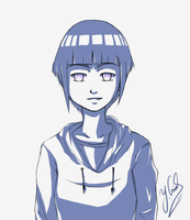 (Confident looking) Hinata_Sketch253115241_23.7.14 by Gubnub