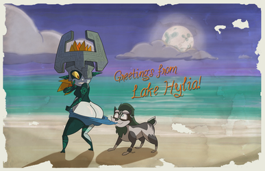 Greetings From Lake Hylia by jljfleger