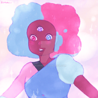 Cotton Candy Mom by Kuminii