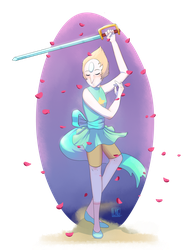 A heart full of petals by Lengleth