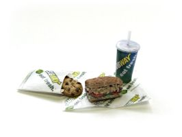 Subway Sandwich Meal #2 by minivenger