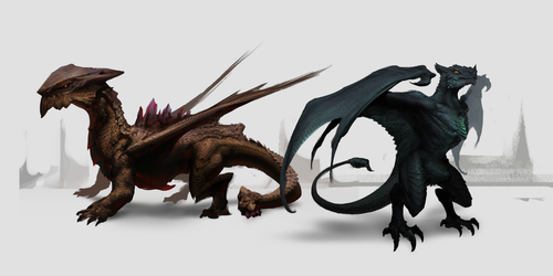 AA: Cragmaw and Kralspitzer by ae-rie