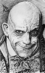 Uncle Fester ( Christopher Lloyd ) by P3laton3