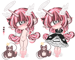 Xynthii and Guni: Adopt: CLOSED by ObsceneBarbie