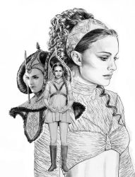 Padme collage by jasonpal