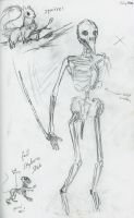 Concept: Skeletons by DreamingFoxfire