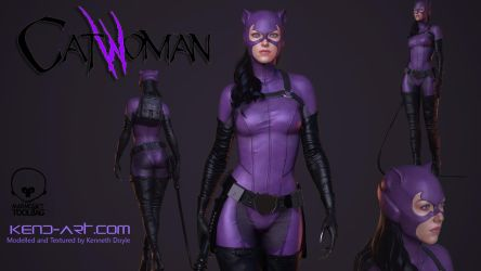 Catwoman by kdoyle9