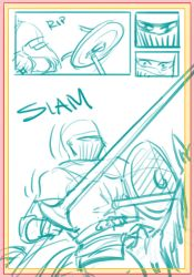 Entry #27 - Roughs - P4 by Original-Blue