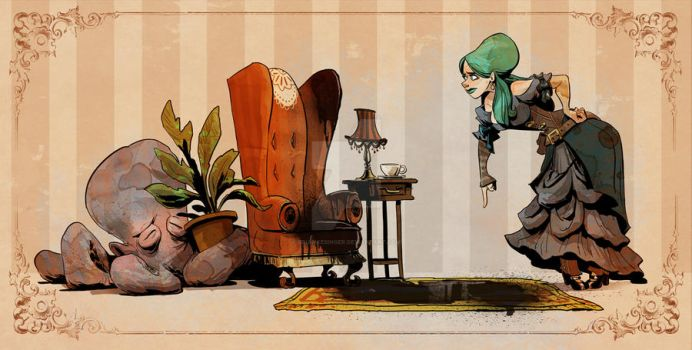 housebreaking otto by BrianKesinger