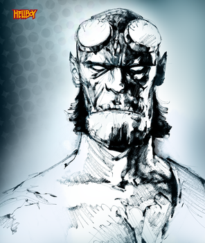 Hellboy by lubbo