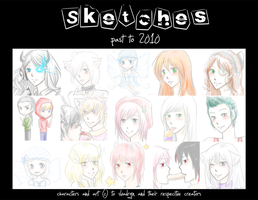 Sketch Dump III: Past to 2010 by slvadrgn