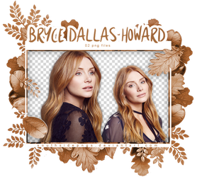 Png Pack 3802 - Bryce Dallas Howard by southsidepngs