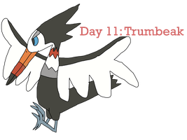 Alolan Pokemon-A-Day Challenge (Day 11: Trumbeak)