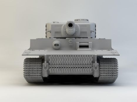 Tiger Tank 2 by therealghostclown