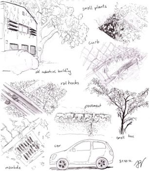 urban sketching 31.10.: industrial area by light-serpent